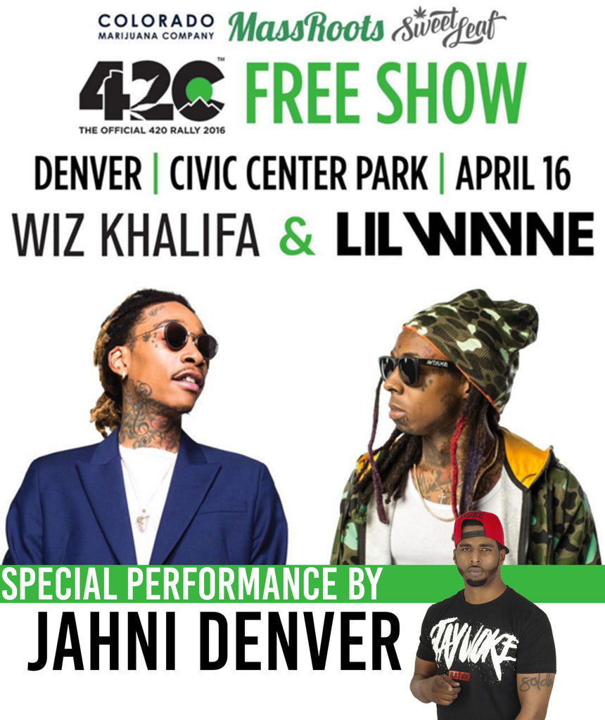 Jahni Denver To Perform at Denver 4/20 Cup!