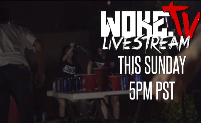 Epic Beer Pong Battle on LiveStream Sunday!