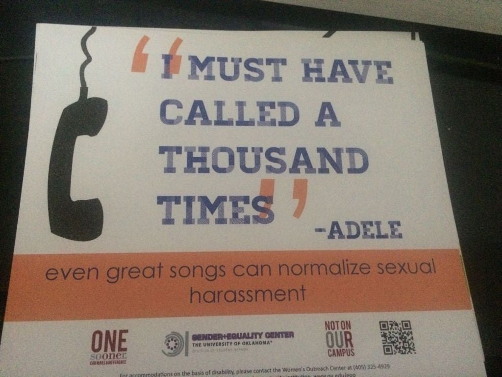 """Hello"" by Adele Promotes ""Unhealthy Relationship Behaviors"" According to Oakland's Gender and Equality Center"