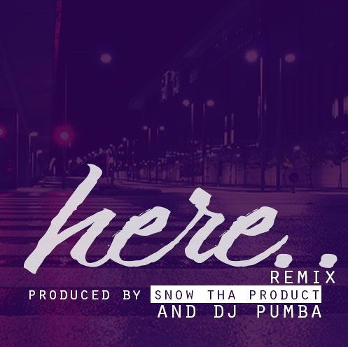 "Snow Tha Product Remixes Alessia Cara's ""Here""! OFFICIAL LYRICS!"
