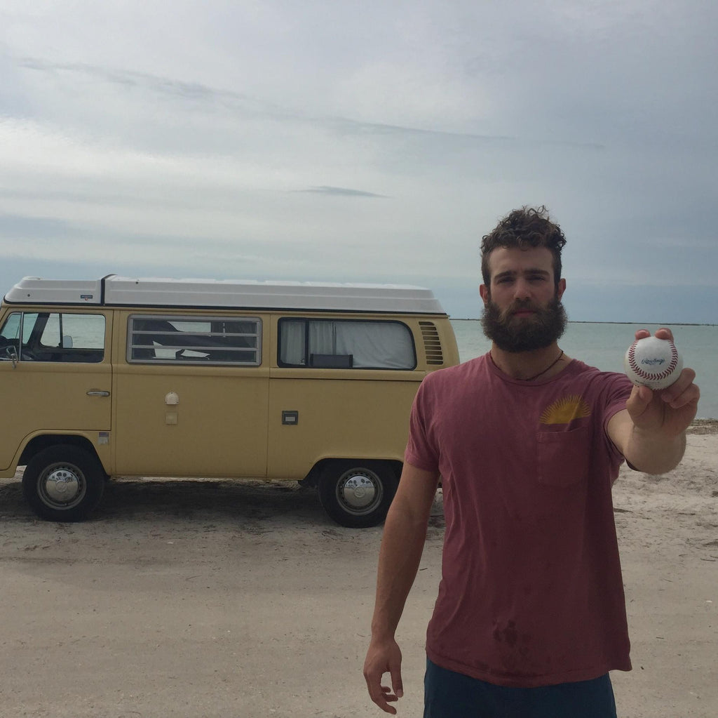 Millionaire Pitcher Lives Out of His Van!