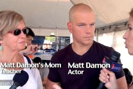Matt Damon Goes In on Reporter Defending Teachers