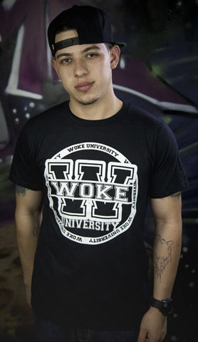 Woke University Black Shirt - WOKE