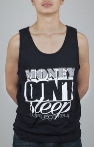 Money Don't Sleep 2.0 Tank (Black and White) - WOKE - 1