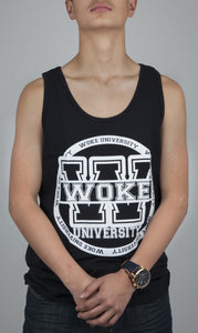 Woke University Black Tank Top - WOKE - 1