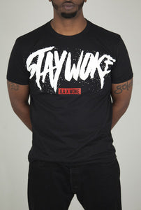 The Stay Woke ILA 2.0 Tee (Black) - WOKE