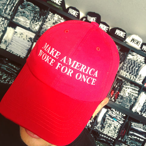 The Woke America Hat - WOKE