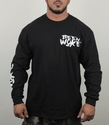 Been Woke Logo Long Sleeve Shirt - WOKE - 1
