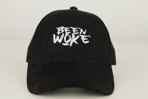 Been Woke Black Suede Polo Hat - WOKE