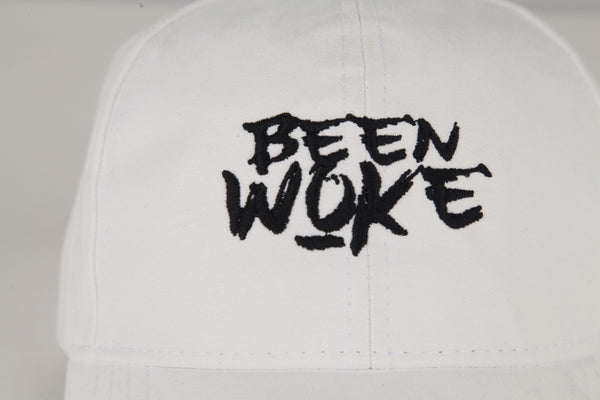 Been Woke White Suede Polo Hat - WOKE - 2