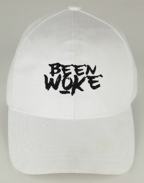 Been Woke White Suede Polo Hat - WOKE - 1