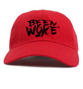 BEEN WOKE RED Dad Hat - WOKE