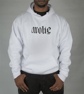 Limited WOKE x SNOW Ambigram Hoodie - White
