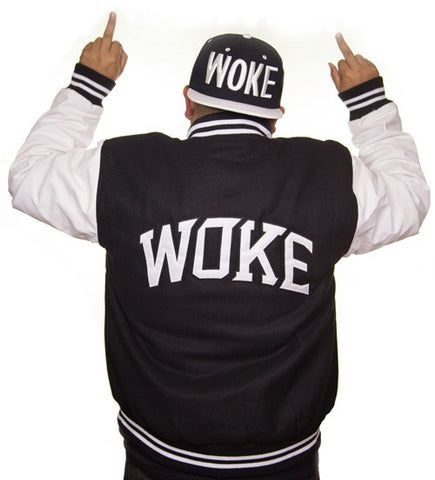 Woke University Letterman Jacket - WOKE - 1