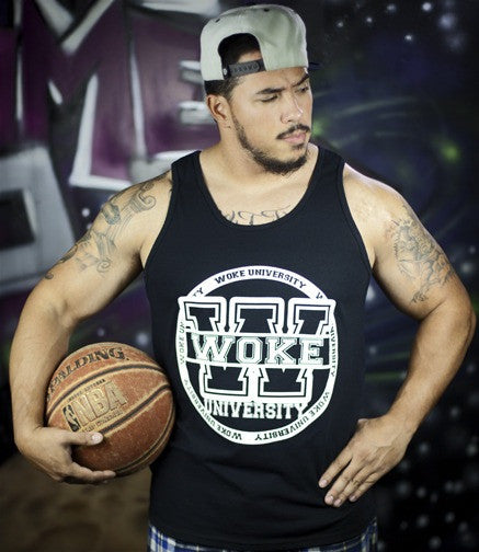Woke University Black Tank Top - WOKE - 2