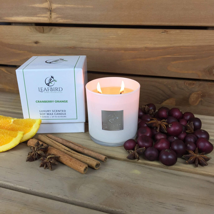 Soy Candle - Cranberry Orange-