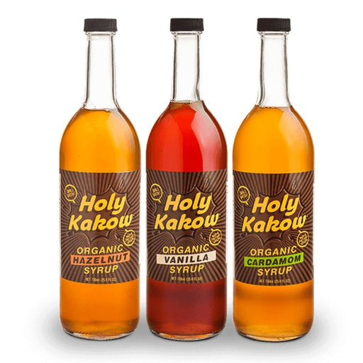 Holy Kakow Organic Coffee Syrups ***SHORT DATE SALE***