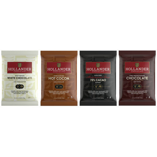 Hollander Barista Chocolate Powder Collection