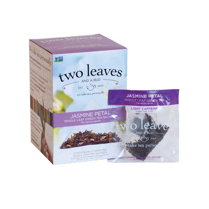 Two Leaves and a Bud Organic Tea - Jasmine Petal