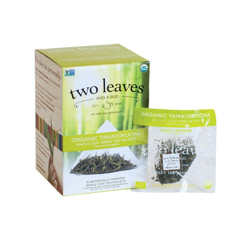 Two Leaves and a Bud Organic Tea -Tamayokucha