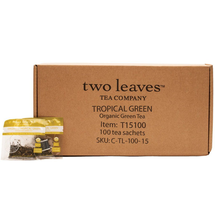 Two Leaves and a Bud Organic Tea - Tropical Green