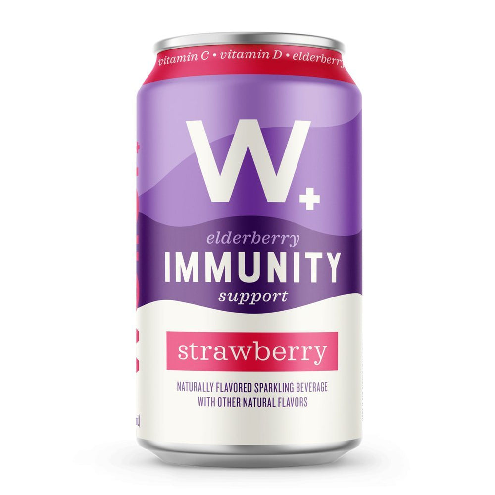 Weller Elderberry Sparkling Immunity Water - Strawberry
