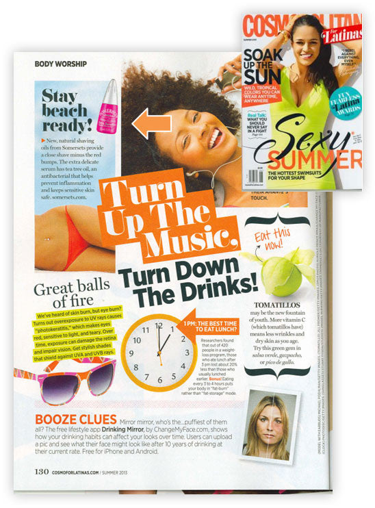 Cosmo for Latinas recommends Somersets