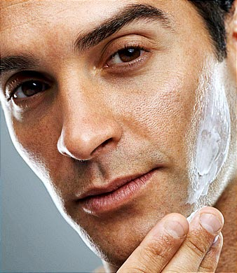 Apply a Balm or Moisturiser after washing or shaving
