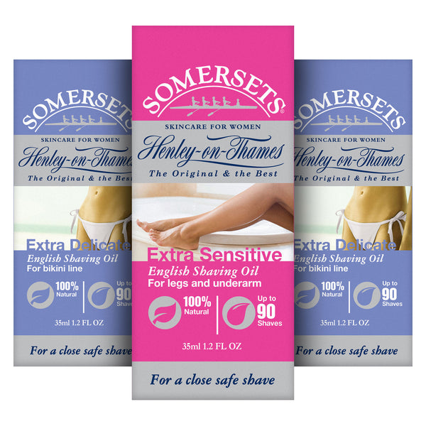 Somerset's Women's Shaving Oil Multi-Buy 3 Pack (3 x 35ml/1.2fl.oz)