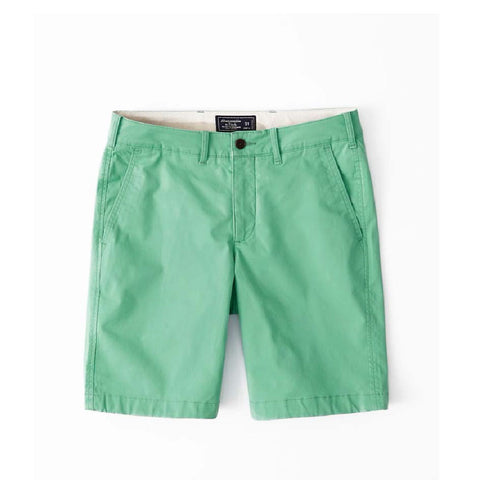 Abercrombie & Fitch: Plain Front Shorts