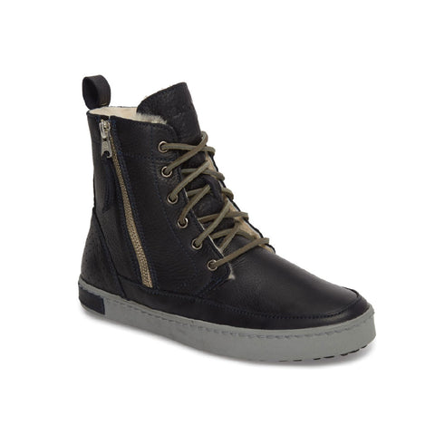 BLACKSTONE: 'CW96' Genuine Shearling Lined Sneaker Boot