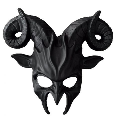 CITY OF ANGELS + DEMONS: Devil Horned Mask