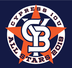 CYB 10U All Stars Fan Wear