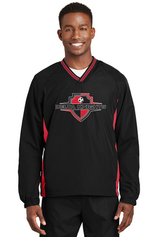 Delta Knights Adult Windbreakers