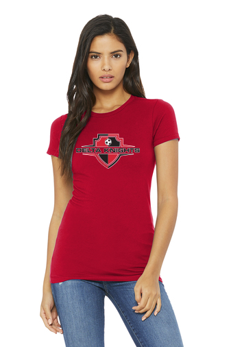 Delta Knights Women's Fitted T-Shirts