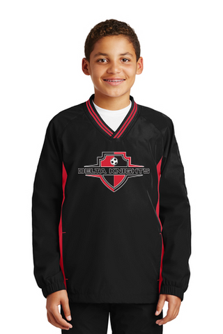 Delta Knights Youth Windbreakers