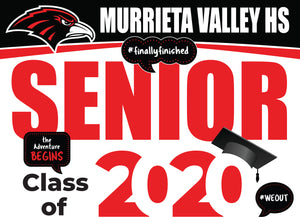 MVHS Graduation Yard Sign