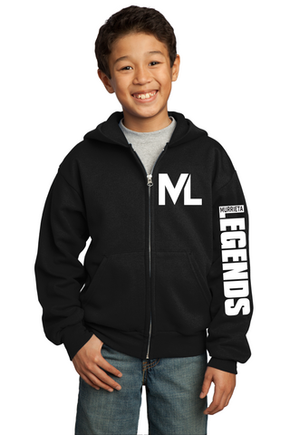 Murrieta Legends Zip Up Hoodies