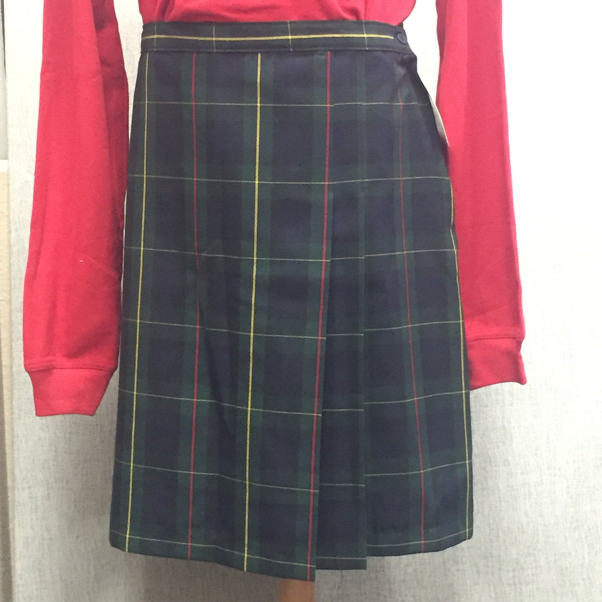 TPS Plaid JR Skort +2""