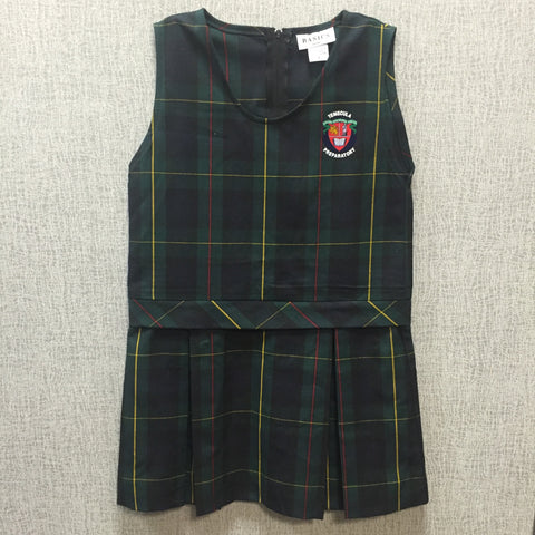 TPS Girls Plaid Jumper