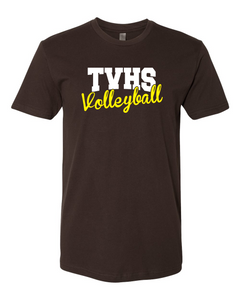 TVHS Girls Volleyball Chocolate Men's T-Shirts