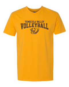 TVHS Girls Volleyball Gold Men's T-Shirts