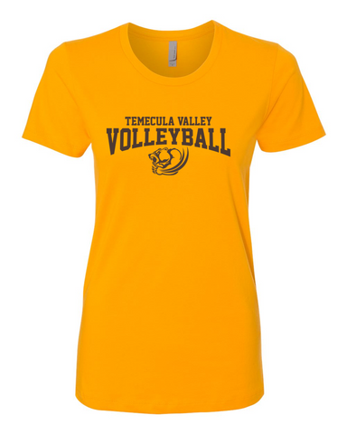 TVHS Girls Volleyball Gold Women's T-Shirt