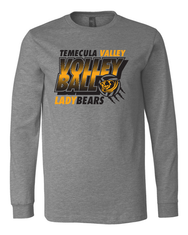 TVHS Lady Bears Volleyball Long Sleeve T-Shirt