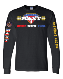 MAXT Long Sleeve 50/50 T-Shirt