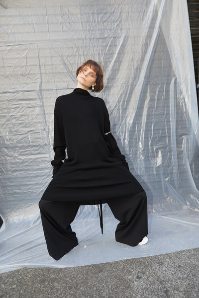 KARMACOMA KNIT DRESS // LUCKY STRIKE PANT
