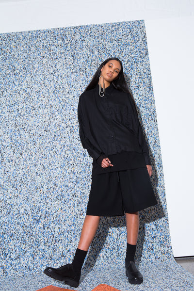 Dismantled Shirt // Mysteron Top/Dress // Smog Cutter Shorts