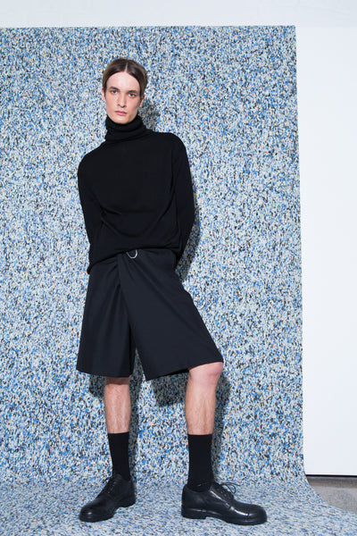 Army of Me Turtleneck // Hidden Track shorts