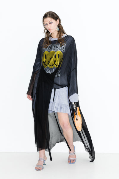 UTTERMOST BEAT OF THE HEART DRESS//OVER SUPERCHARGE TEE//BISCHON BAG