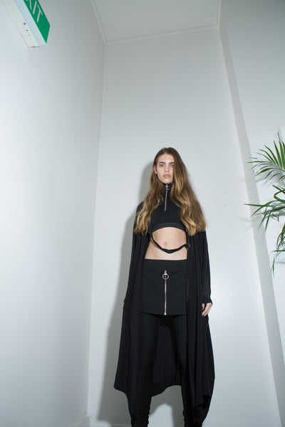 Serpentine Robe // Circuit Crop Top // Outro Pant